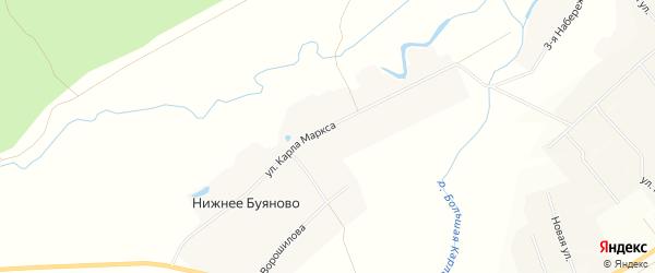 Карта деревни Чепкас-Ильметево в Чувашии с улицами и номерами домов