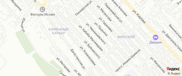 Садовая улица на карте Коммунальника СНТ с номерами домов