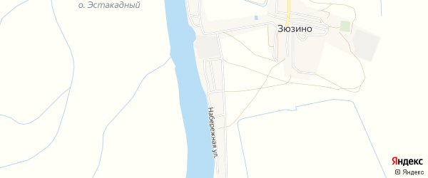Карта Бакланьего поселка в Астраханской области с улицами и номерами домов