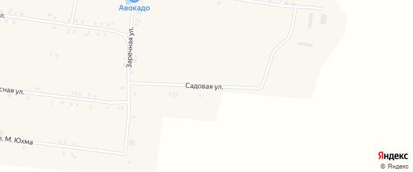 Садовая улица на карте села Сугуты с номерами домов