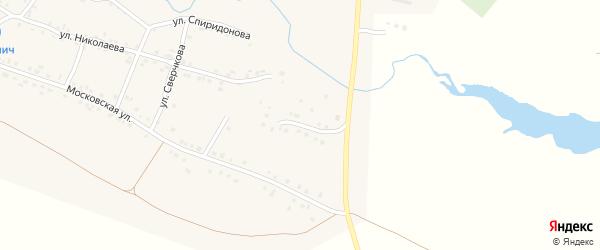 Молодежная улица на карте села Яншихова-Норвашей с номерами домов