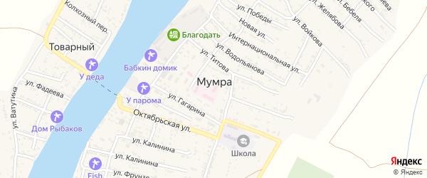 Улица Свердлова на карте села Мумры с номерами домов