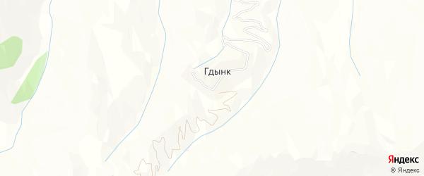 Карта села Гдынк в Дагестане с улицами и номерами домов