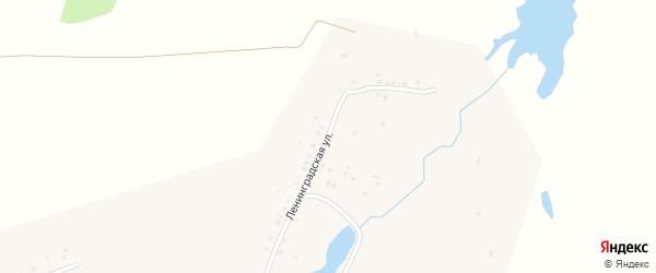 Ленинградская улица на карте села Игорвары с номерами домов