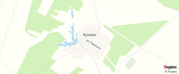 Карта деревни Кукары в Чувашии с улицами и номерами домов