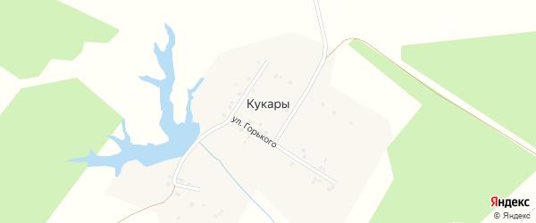 Улица Чкалова на карте деревни Кукары с номерами домов