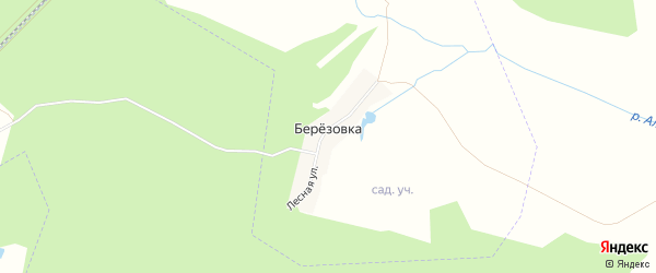 СТ Садоводческое товарищество Восточный 2 на карте деревни Березовки с номерами домов