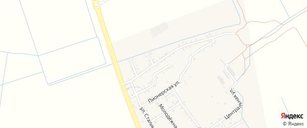 Улица 70 лет Октября на карте села Зеленоморск с номерами домов