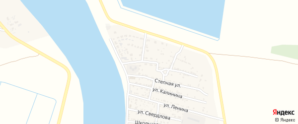 Октябрьская улица на карте Житного села с номерами домов