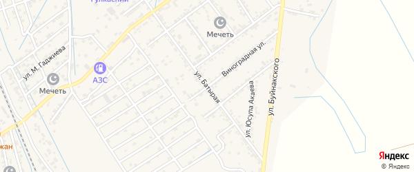 Батырая улица на карте поселка Манаса с номерами домов