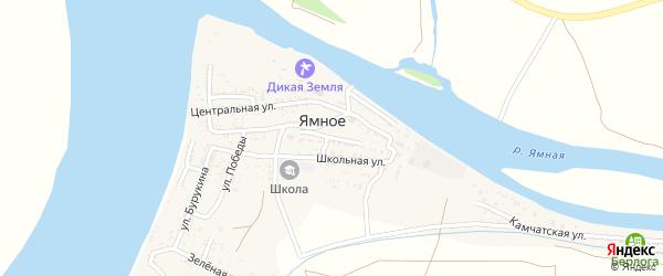Аптечная улица на карте Ямного села с номерами домов