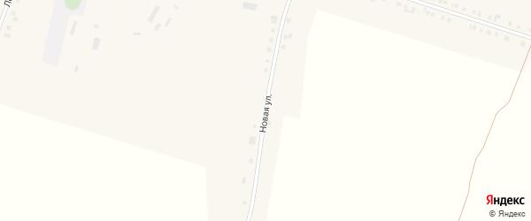 Новая улица на карте деревни Татарские Сугуты с номерами домов