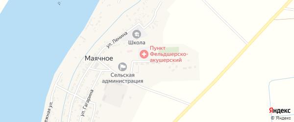 Улица 70 лет Октября на карте Маячного села с номерами домов