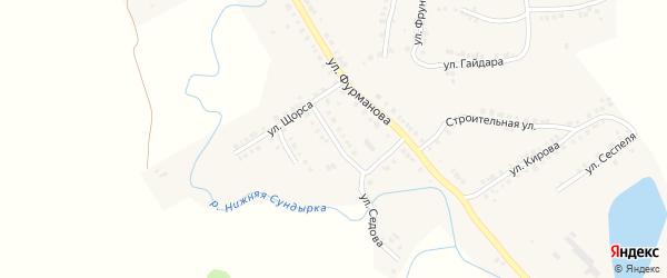 Улица Грибоедова на карте Мариинского Посада с номерами домов