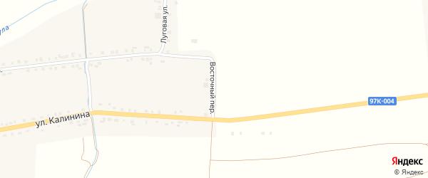 Луговая улица на карте деревни Старое Ахпердино с номерами домов