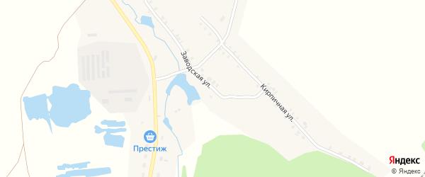 Заводская улица на карте станции Шоркистры с номерами домов