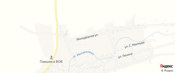 Молодежная улица на карте села Утамыша с номерами домов