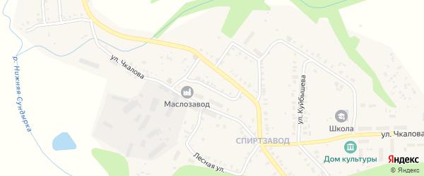 Улица Маяковского на карте Мариинского Посада с номерами домов