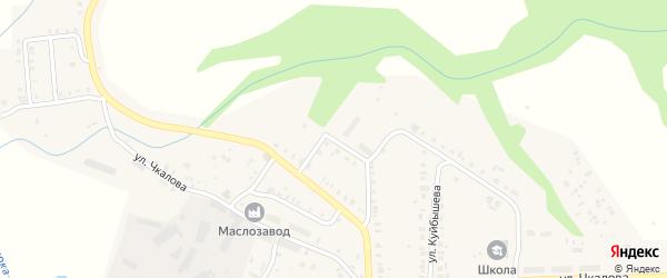 Улица Лескова на карте Мариинского Посада с номерами домов