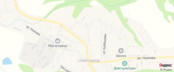 Улица Тургенева на карте Мариинского Посада с номерами домов
