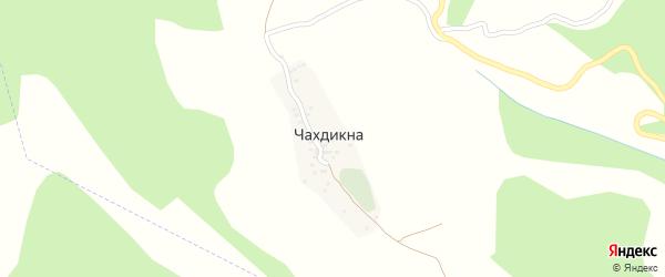 Улица Байгар кат на карте села Чахдикна с номерами домов