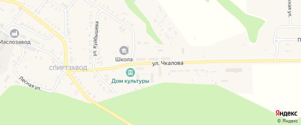 Улица Чкалова на карте Мариинского Посада с номерами домов