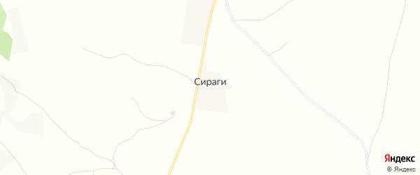 Карта села Сираги в Дагестане с улицами и номерами домов