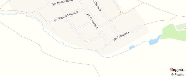 Улица Соловьева на карте деревни Старое Буяново с номерами домов