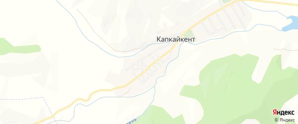 Карта села Капкайкента в Дагестане с улицами и номерами домов