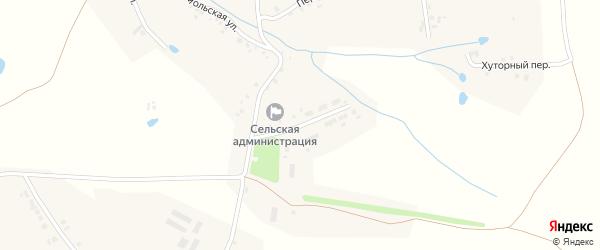 Новая улица на карте деревни Новое Буяново с номерами домов