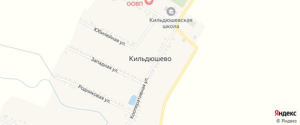 Школьная улица на карте деревни Кильдюшево с номерами домов