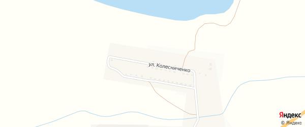 Улица Колесниченко на карте села Бахтемира с номерами домов