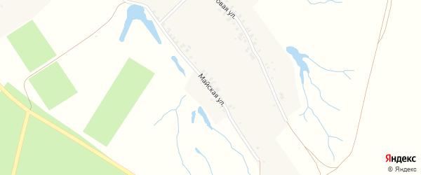 Майская улица на карте деревни Астакасы с номерами домов