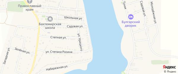 Улица К.Маркса на карте села Бахтемира с номерами домов