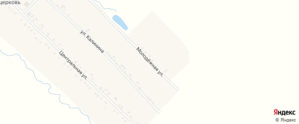 Молодежная улица на карте села Кушелги с номерами домов