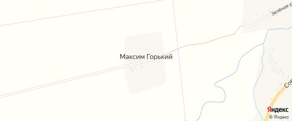 Улица Максима Горького на карте Максима Горького поселка с номерами домов