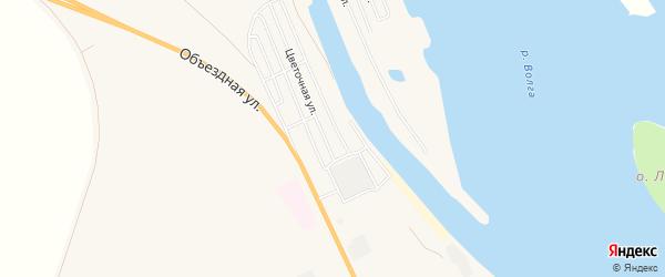 СТ Шлюзовик на карте Енотаевского района с номерами домов