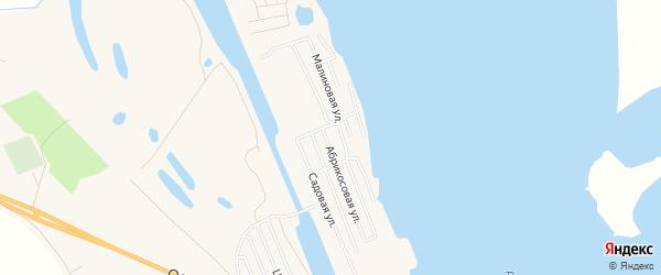 СТ Вододелитель на карте Енотаевского района с номерами домов