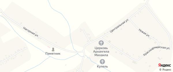 Улица Чапаева на карте села Тогаево с номерами домов