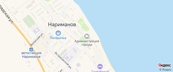 Набережная улица на карте населенного пункта Разъезда N2 с номерами домов