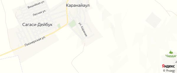Карта села Кулкама в Дагестане с улицами и номерами домов