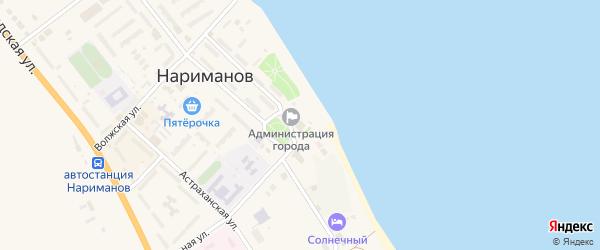 Школьная улица на карте населенного пункта Разъезда N2 с номерами домов