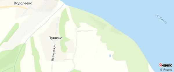 СТ Барский сад на карте Приволжского сельского поселения с номерами домов