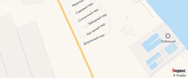 Дорожный переулок на карте Нариманова с номерами домов