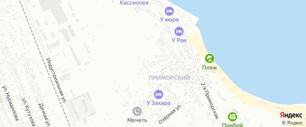 Песчаная улица на карте Избербаша с номерами домов