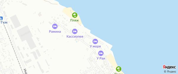 2-я Береговая улица на карте Избербаша с номерами домов