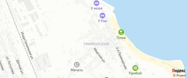 Набережная улица на карте Избербаша с номерами домов