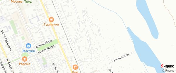 Тампонажная улица на карте Избербаша с номерами домов
