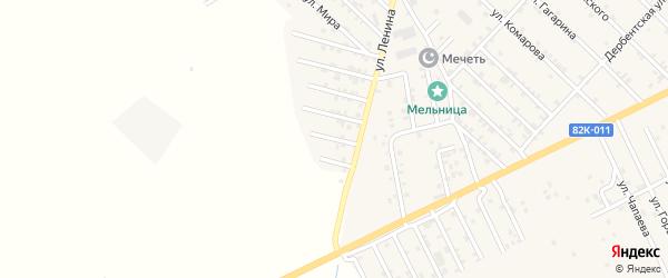 Степная 4-я улица на карте Первомайского села с номерами домов