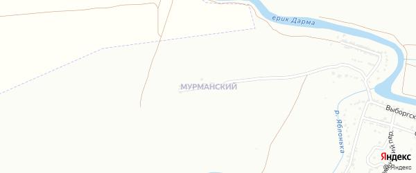 Мурманская улица на карте Астрахани с номерами домов